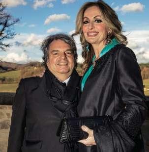 RENATO E TITTI BRUNETTA AL MATRIMONIO DI CATIA POLIDORI