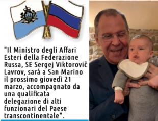 SERGEJ LAVROV A SAN MARINO