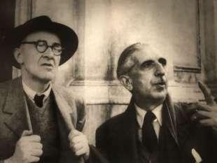 Giorgio Morandi e Roberto Longhi