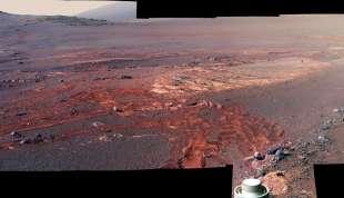 le immagini di marte del rover curiosity 3