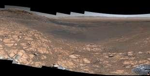 le immagini di marte del rover curiosity 7