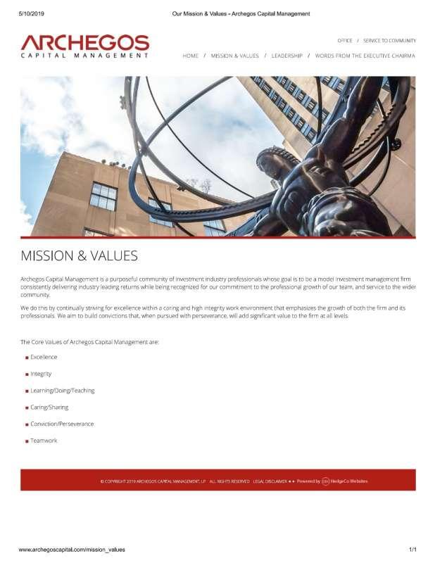archegos capital management