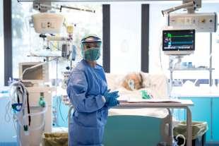 coronavirus il reparto di terapia intensiva del sant'orsola di bologna 2
