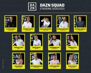 dazn squadra
