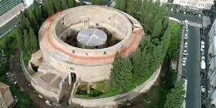 foto del mausoleo di augusto