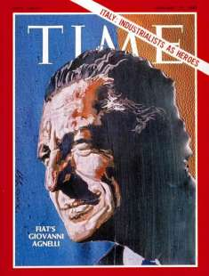 gianni agnelli sulla copertina di time nel 1969