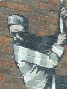 graffito di banksy