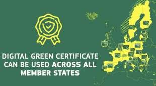 green digital pass europeo 2