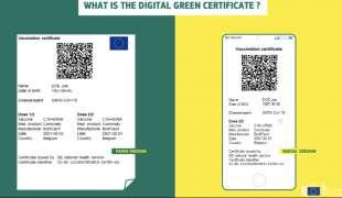 green digital pass europeo 3