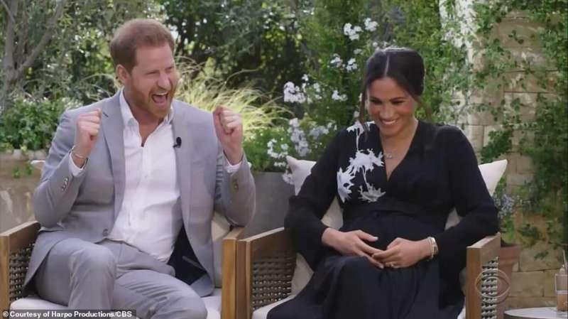 harry e meghan intervista a oprah winfrey