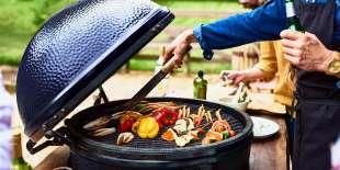 il barbecue inquina