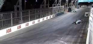 incidente alex lynn in formula e 6