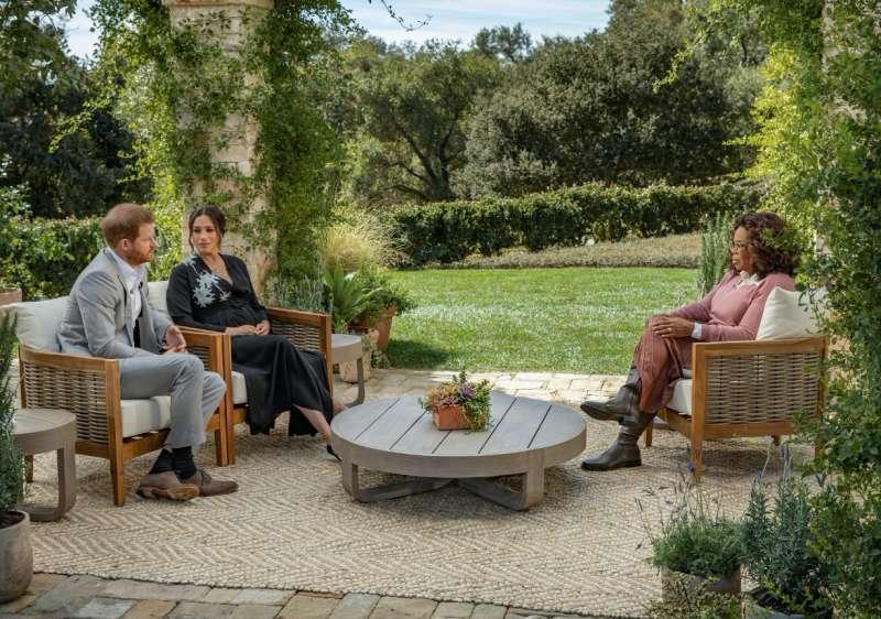 intervista cbs oprah a meghan and harry (foto 1)