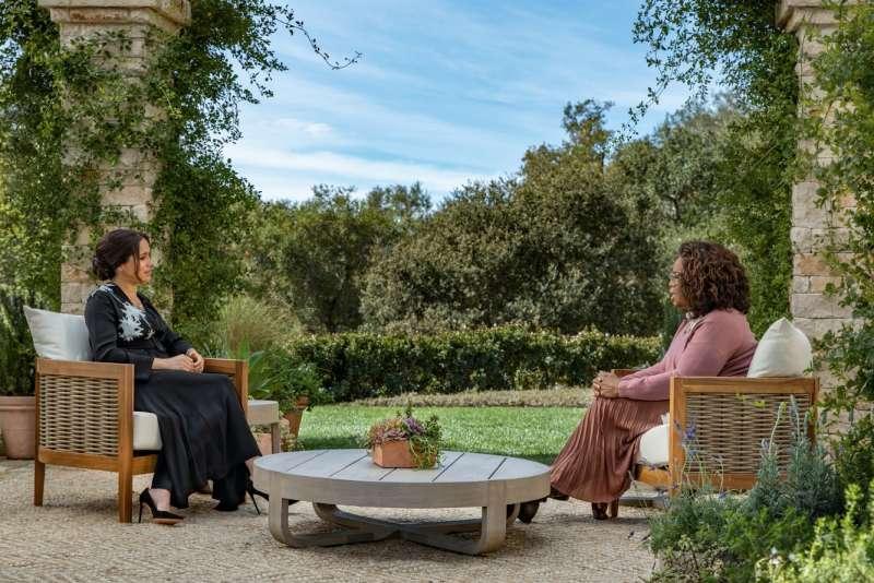 intervista cbs oprah a meghan and harry (foto 2)