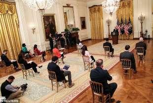 la prima conferenza stampa di joe biden 6