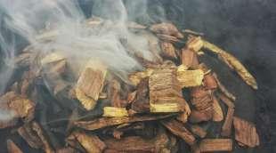 legno per affumicare