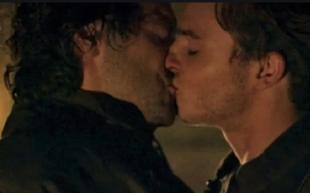 leonardo bacio gay
