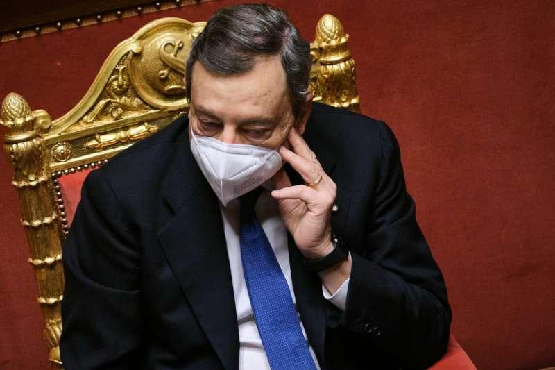 mario draghi al senato 1