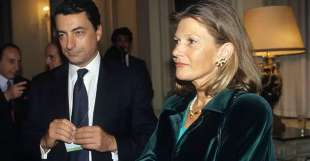 Mario Draghi con la moglie Serena Cappello
