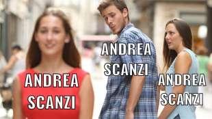 meme su Andrea Scanzi