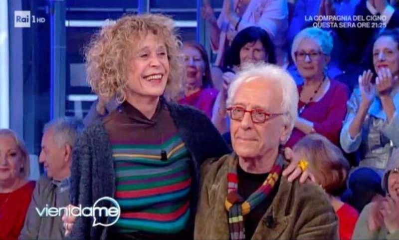 Mughini e Michela Pandolfi