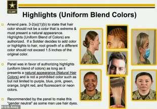 nuovo regolamento donne nell'esercito usa 16