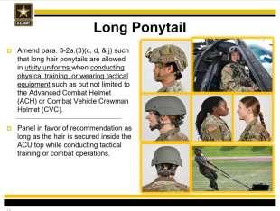 nuovo regolamento donne nell'esercito usa 2