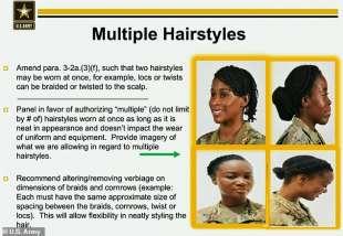 nuovo regolamento donne nell'esercito usa 6