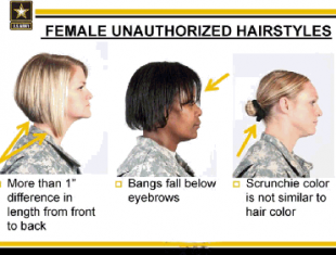 nuovo regolamento donne nell'esercito usa 9