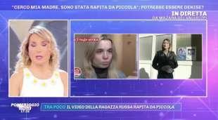 olesya rostova denise pipitone pomeriggio cinque
