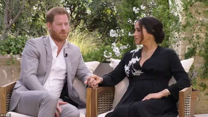 oprah winfrey intervista meghan markle e il principe harry 7