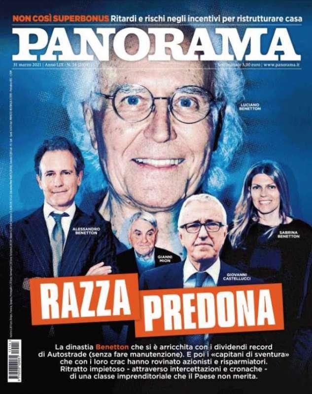 PANORAMA - RAZZA PREDONA