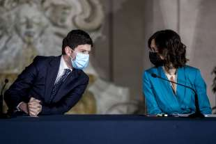 ROBERTO SPERANZA E MARIASTELLA GELMINI