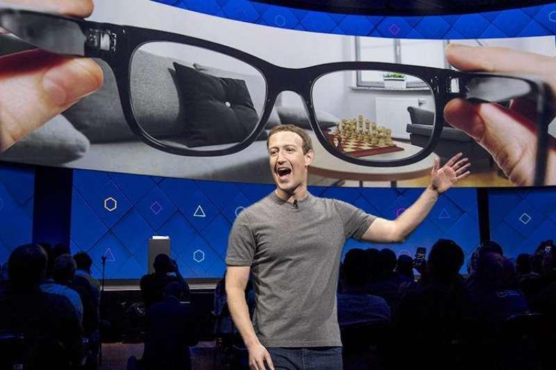 smart glasses di facebook mark zuckerberg