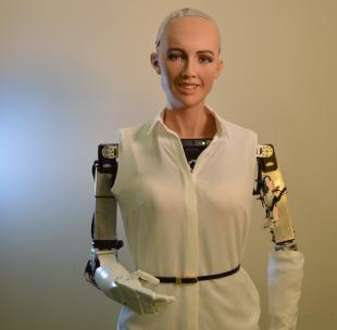 sophia della hanson robotics
