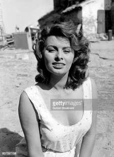 sophia loren negli anni 50