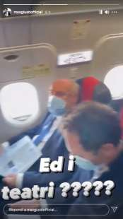 story di max giusti sul volo roma milano 1