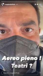 story di max giusti sul volo roma milano 3