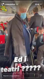 story di max giusti sul volo roma milano 4