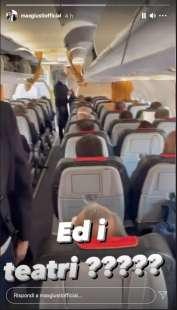 story di max giusti sul volo roma milano 5