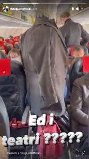 story di max giusti sul volo roma milano 7