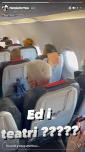 story di max giusti sul volo roma milano 9