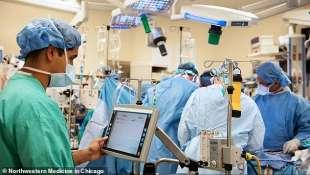 trapianto polmoni pazienti covid a chicago 1