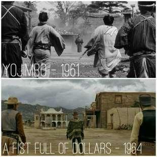 yojimbo vs per un pugno di dollari 2