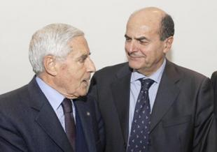 FRANCO MARINI E PIERLUIGI BERSANI