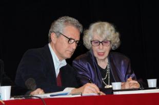 Rutelli e Giosetta Fioroni