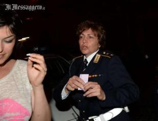 SARA TOMMASI FOTO BARILLARI PER IL MESSAGGERO