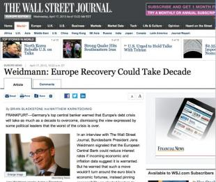 WEIDMANN AL WALL STREET JOURNAL
