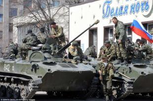 carriarmati nella citta 321950 tn Donestsk è Caduta.... in Mano ai Filo Russi