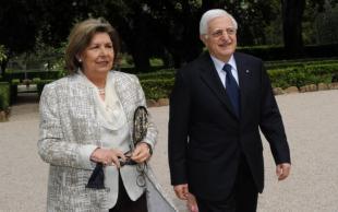 Donato Marra e moglie